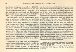 This excerpt from International Aspects of Oceanography, an NSF publication, was written by Wayland Vaughn of the Scripps Institution of Oceanography  Photo