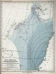 Sea surface temperatures observed in the Greenland Sea during the German North Polar Expedition of 1869 Photo