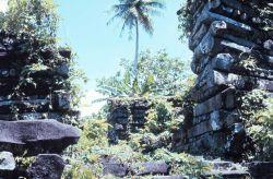 The prehistoric Micronesian city of Nan Madol - Basalt