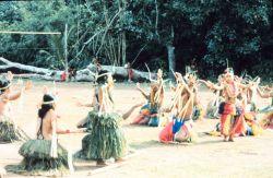 Traditional stick dance Photo
