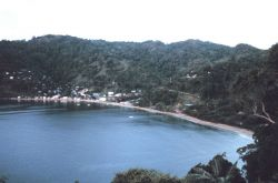 A view of Man-of-War Bay and Charlottesville Photo