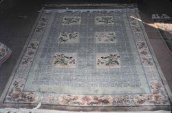 Decorative oriental rug Photo
