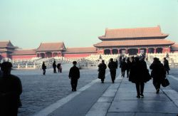 The Forbidden City at Beijing. Photo