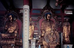 Statues of Buddha. Photo