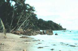 Uninhabited island in Eastern Tropical Pacific Photo