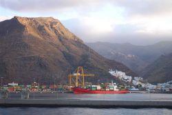 The harbor at Santa Cruz de Tenerife. Photo