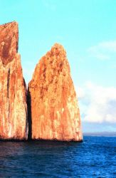 Kicker Rock in the afternoon sun Photo