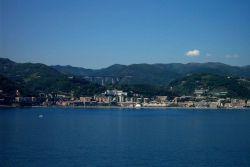 Along the northwest coast of Italy. Image