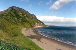 A Kurile Island shoreline. Image