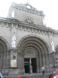 An entrance to the Manila Cathedral. Image