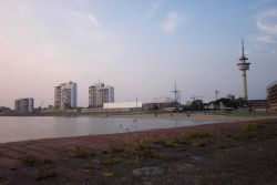 A view of the beach at Bremerhaven. Image