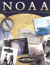 Cover of NOAA magazine that was published to accompany the 200th Anniversary of the founding of NOAA's oldest ancestor agency. Photo