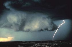 A storm chase on June 19, 1980 Image
