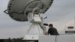 NO-XP radar makes the first deployment of VORTEX II 2010 operations. Photo