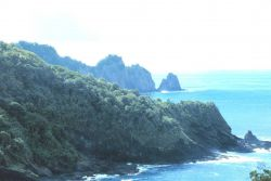 American Samoa shoreline Image