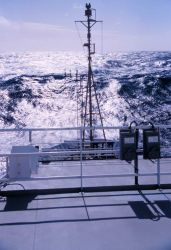 The bow of the NOAA Ship RONALD H Photo