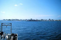 A view of Male, capital of the Maldive Islands as seen from the NOAA Ship RONALD H Photo