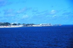 A view of the Island of Nauru in the South Pacific during NAURU99 (RB-99-04) as seen from the NOAA Ship RONALD H Photo