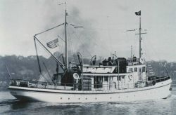 The Coast and Geodetic Survey Ship PATTON at Seattle. Photo