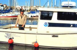 Patrol and research vessel used by the Gulf of the Farallones National Marine Sanctuary. Photo