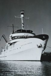 Bureau of Commercial Fisheries Ship DAVID STARR JORDAN - the finished product. Photo