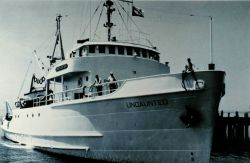 Bureau of Commercial Fisheries Research Vessel UNDAUNTED Photo