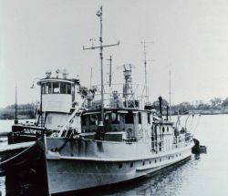 Coast and Geodetic Survey Ship GILBERT at the International Paper Co Photo
