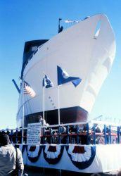 Launching ceremony for the NOAA Ship CHAPMAN. Photo