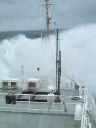 Rockin' and Rollin' on the NOAA Ship RONALD H Photo