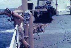 USC&GS Ship OCEANOGRAPHER around the world cruise Photo