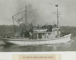 Coast and Geodetic Survey Ship PATTON ca Photo