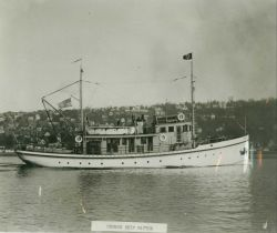 Coast and Geodetic Survey Ship PATTON off Seattle. Photo