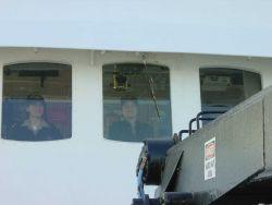 Bridge watch on the NOAA Ship WHITING Photo