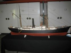 Model of the United States Fish Commission Steamer ALBATROSS Photo