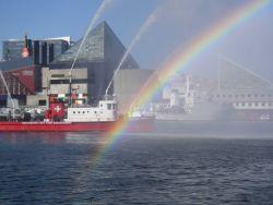 NOAA Ship THOMAS JEFFERSON at Baltimore Inner Harbor. Photo