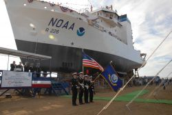 NOAA Ship PISCES launch photo -1. Photo