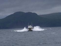 Survey launch off NOAA Ship RAINIER