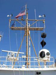 Working on the NOAA Ship KA'IMIMOANA (R333). Photo