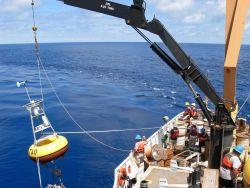 Buoy operations on the NOAA Ship KA'IMIMOANA Photo