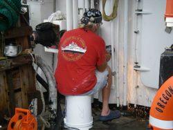 NOAA TAS onboard the NOAA Ship OREGON II Photo