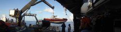 Deploying RHIB off NOAA Ship NANCY FOSTER Photo