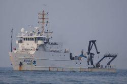 NOAA ship NANCY FOSTER port side view. Photo