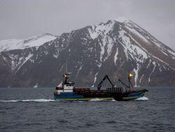 The fishing vessel CORNELIA MARIE seen at Dutch Harbor Photo