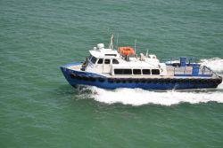 The Panama Pilot Boat ILKA underway. Photo