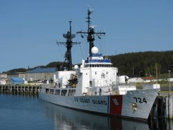 United States Coast Guard high endurance cutter, Hull Number 724. Photo