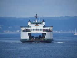 Seattle ferry boat KITSAP Photo