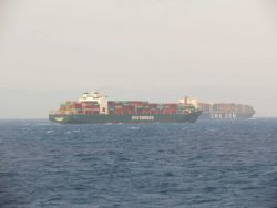 Containerships EVER DEVOTE and CMA CGN M/V IVANHOE Photo