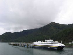 Alaska ferry CHENEGA at Cordova. Photo