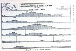 Profiles of Giacomini Seamount discovered in the Gulf of Alaska by systematic Coast and Geodetic tracklines between 1925 and 1939 Photo