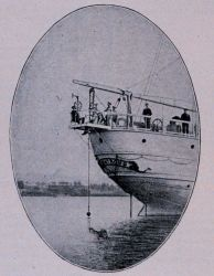 Sigsbee Sounding Machine mounted on the stern of the United States Fish Commission Steamer ALBATROSS Photo